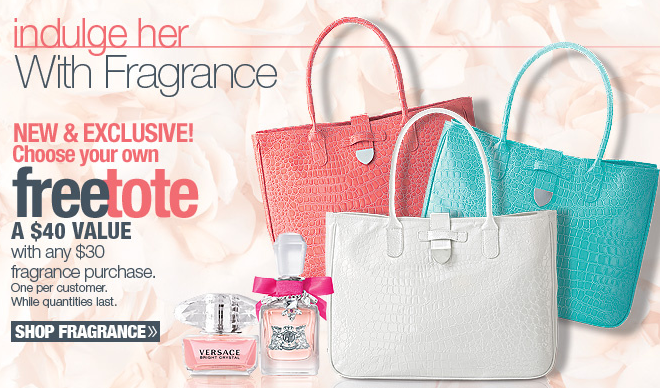 Ulta.com: FREE Tote with Fragrance Purchase + Free Shipping on $25 ...