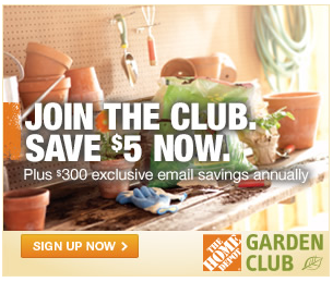 Home Depot Garden Club Sign Up For Over 300 In Annual