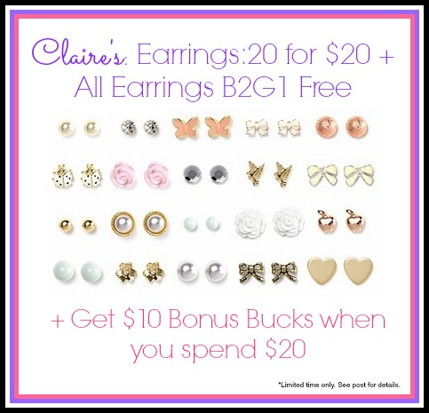 photo relating to Claires Coupon Printable called Claires coupon codes for ear piercing printable / Sizzling discount codes 2018