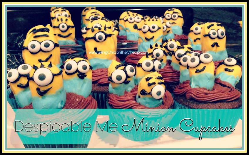 Despicable Me Minion Cupcakes Recipe Amp Tutorial