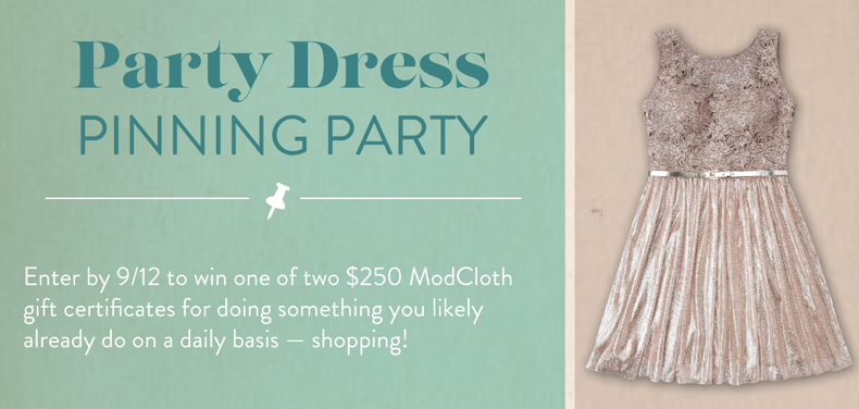 Create an account with ModCloth and receive a promo code for $20 off $ plus notifications of sales, new inventory, and coupon codes. Look for limited-time deals on thousands of clothing items and accessories in the sales section.