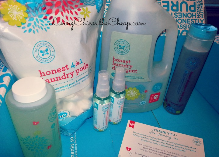 40 Worth Of Products From The Honest Company For Only 20 I Love This Line