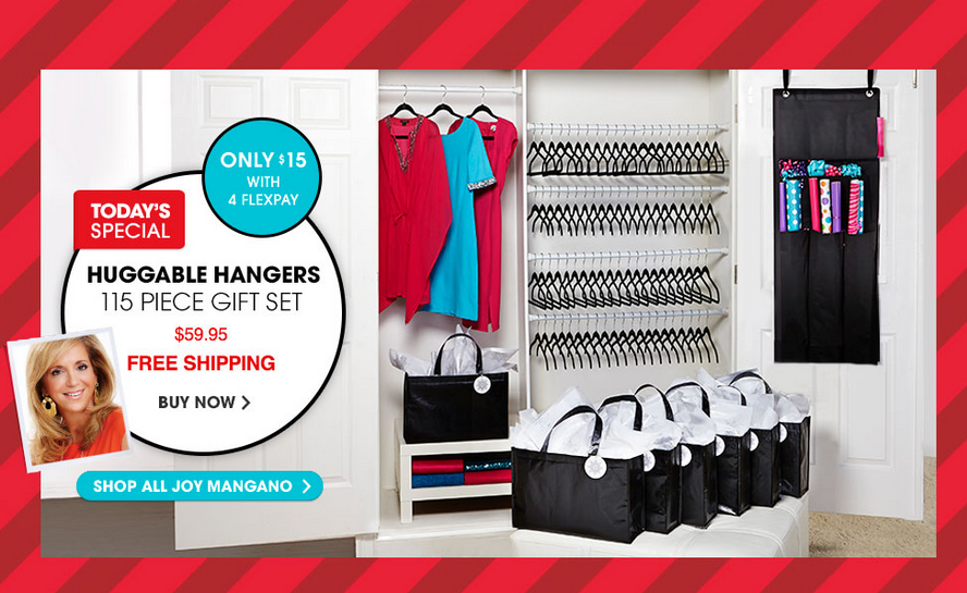 HSN: Huggable Hangers 115-piece Huge Holiday Sets ONLY $59 ...
