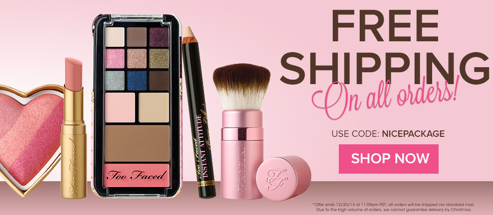 Head on over to nmuiakbosczpl.ga and grab up select eyeshadow paletted for 40% off today only using code MERRYDEALS (excludes Cover's Eyeshadow Palette, Pretty Rich, and Life's a Peach) as well as free shipping!. Where to buy. Too Faced. Add a Comment.