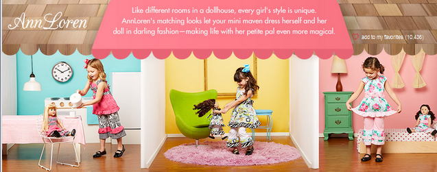 3ce5fdb03 Zulily: Coordinating Ann Loren Outfits for Girls & Dolls SALE (Prices from  $10.99)