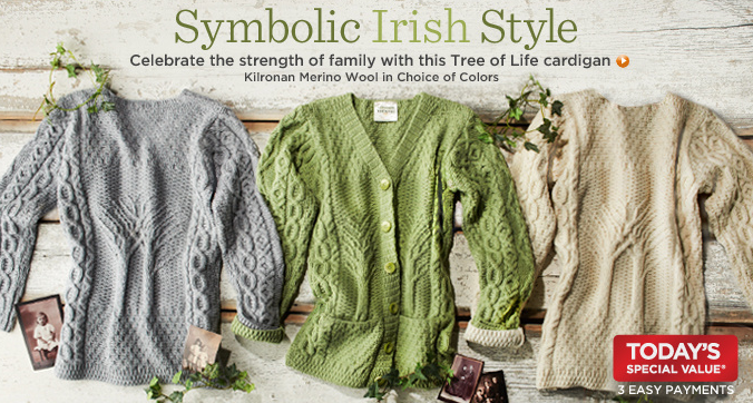 qvc: st. patrick's day celebration (including irish clearance)