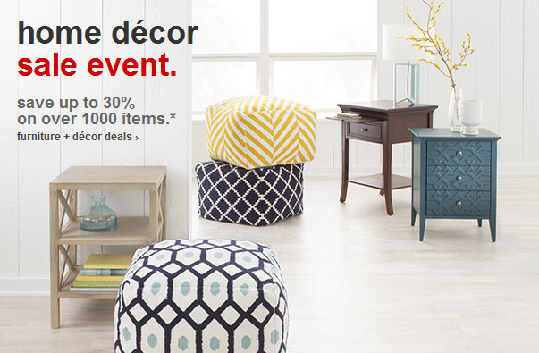 Target Home Decor Sale. This Sale Includes Everyday And Holiday