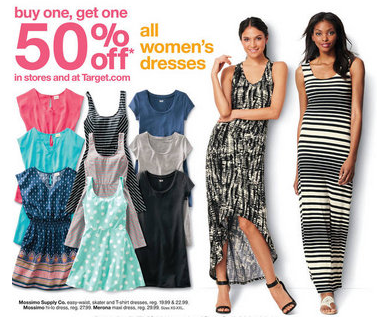 Target Womens Merona And Mossimo Dresses As Low As 1249 After