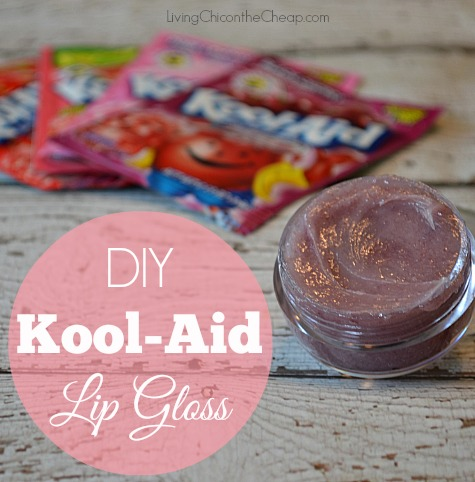 DIY Kool-Aid Lip Gloss