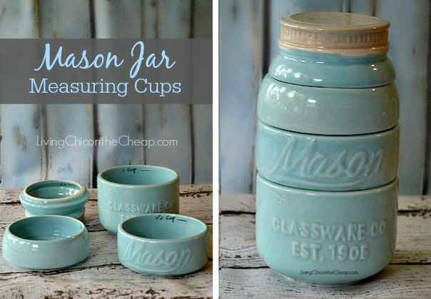 Mason Jar Measuring Cups Back In Stock