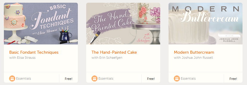 free cake decorating classes