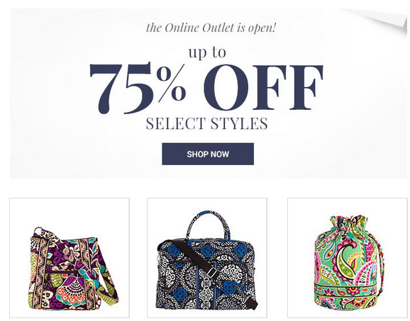 Vera bradley outlet coupon code