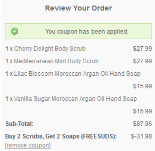 well scent coupon
