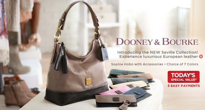 Qvc dooney amp bourke today s special value