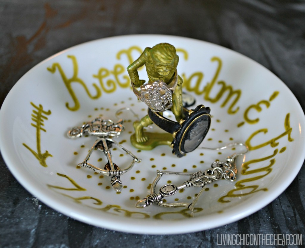 zombie ring dish