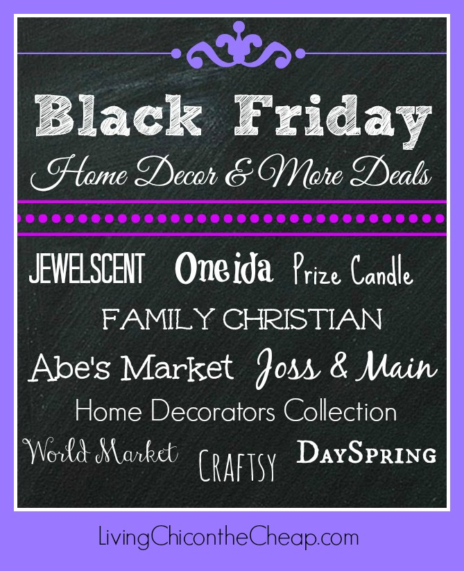 black friday home decor amp more deals