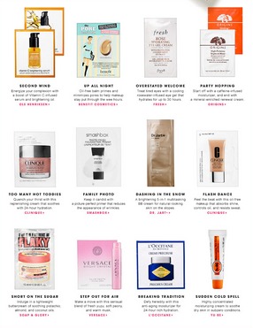 Sephora: 1 of 3 Holiday Deluxe Sample Bags with ANY $25 Online ...