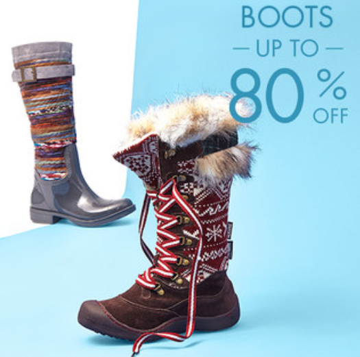 Zulily: Women's Boot SALE (up to 80% Off)