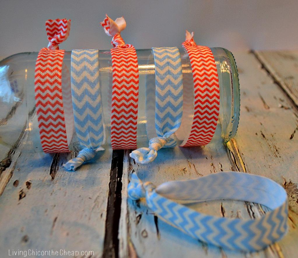 Easy Diy Make Your Own Ribbon Hair Ties