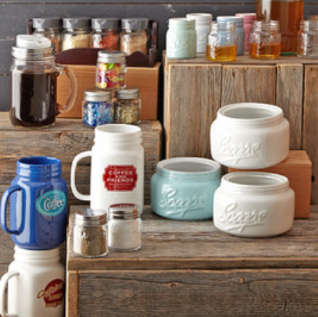 Zulily Up To 55 Off Market Fresh Kitchen Finds Mason Jars Cast Iron More
