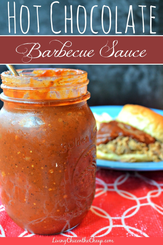Hot Chocolate Barbecue Sauce