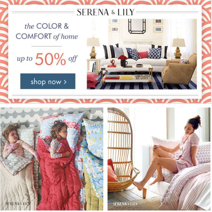 Zulily serena lily sale for Serena and lily coupons