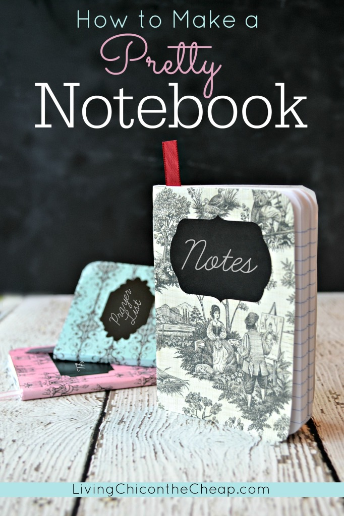 How to make a pretty notebook