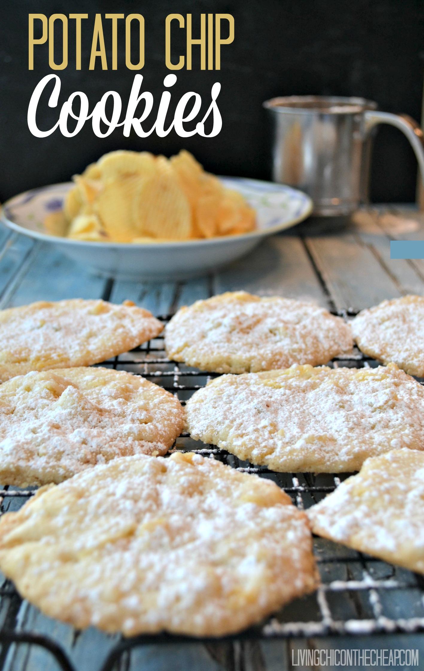 Potato Chip Cookies Recipe — Dishmaps