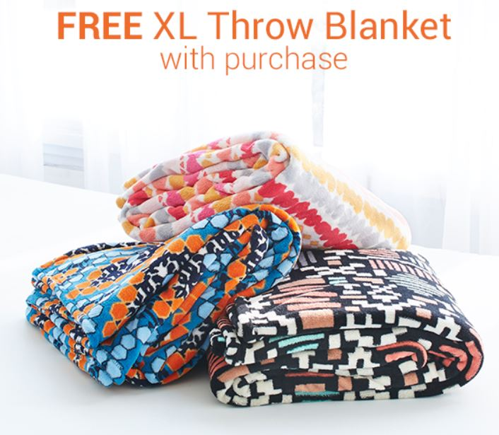 Vera Bradley Fans! You can get a Free exclusive XL Throw Blanket with any  purchase of  125 or more 48a661208ade8
