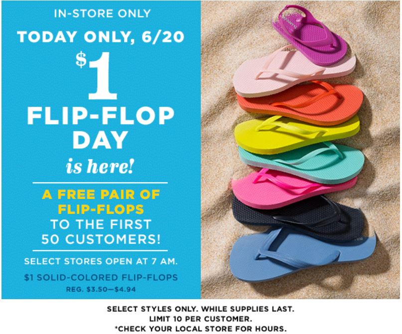 cd68105494bf disclosure ONflipflops. Attention Old Navy Shoppers!
