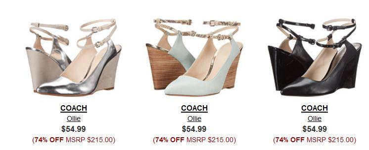 8c9b4fd3421c 6pm.com  Coach Shoes   Accessories Sale + Free Shipping!