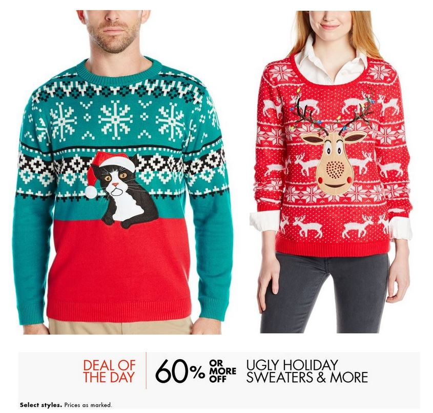 Christmas sweaters on sale