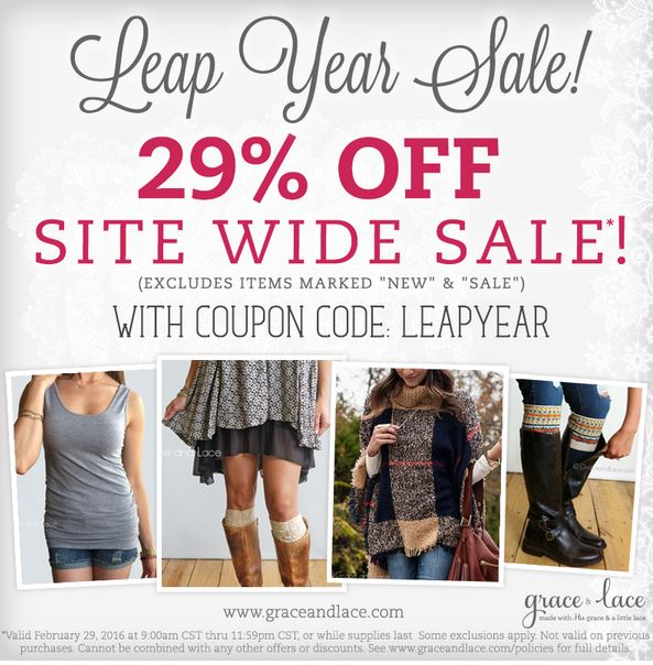 Grace and lace coupon code