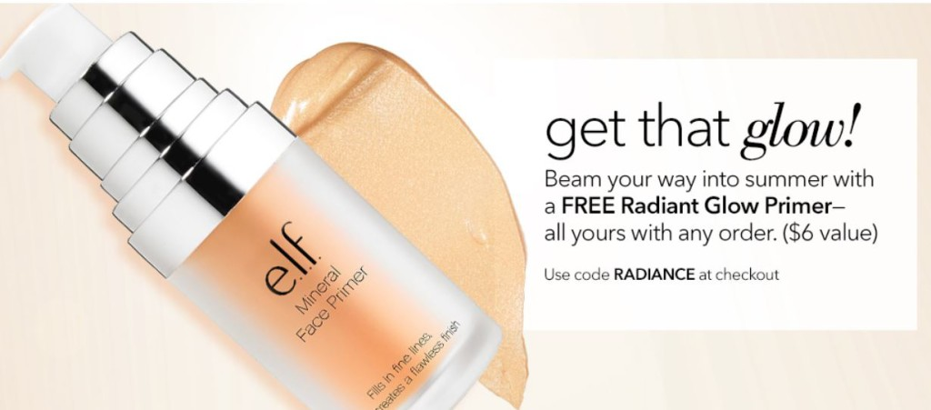 E L F Cosmetics Free Mineral Infused Face Primer In