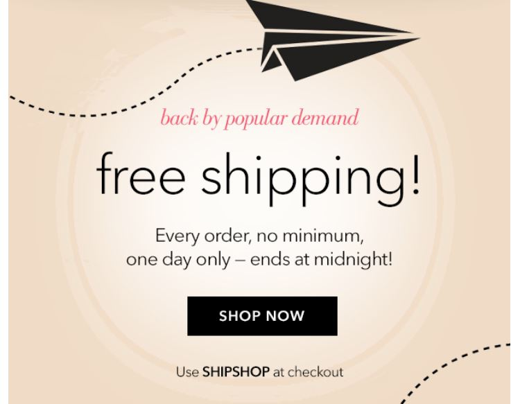 Free shipping coupons for elf cosmetics