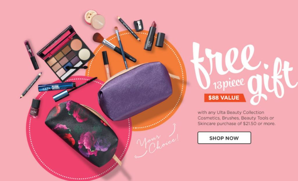 Ulta.com: FREE 13-pc Gift with Your $21.50 ULTA Beauty Purchase!