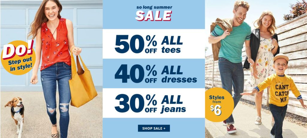 0c8a39eb1953 Old Navy: 20% Off Code + End of Summer Sale + Free Shipping on Orders of  $25 or More!