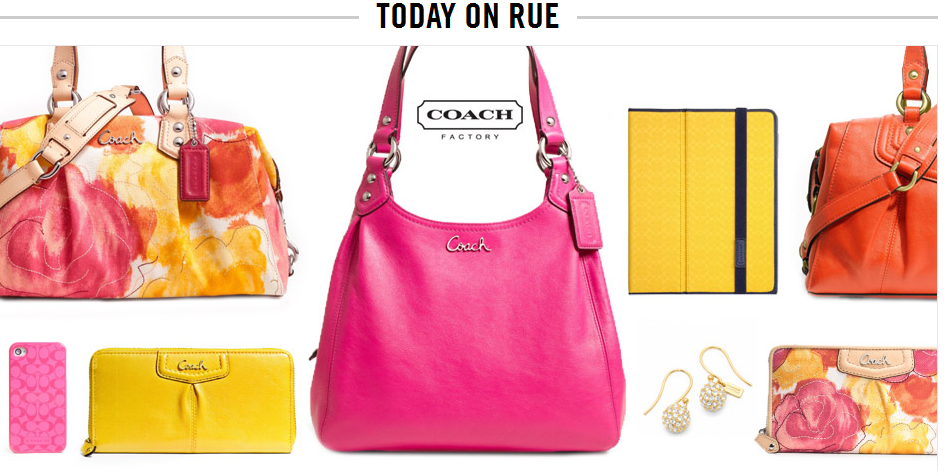 Rue La Coach Bags Accessories