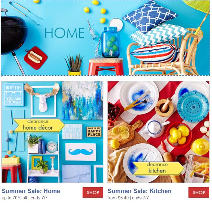 home decor outlet on summer zulily up to 80 summer clearance clothing 12361